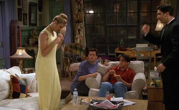 Le Houmous de Monica -Friends