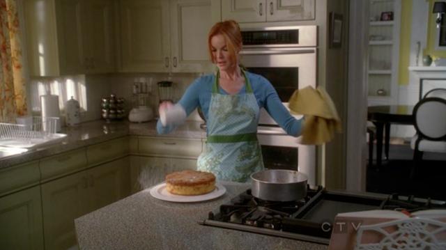 Le gâteau renversé à l'ananas de Bree -Desperate Housewives